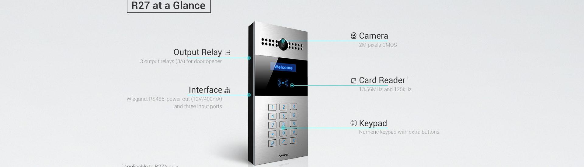 Bina Tipi - Akuvox R27