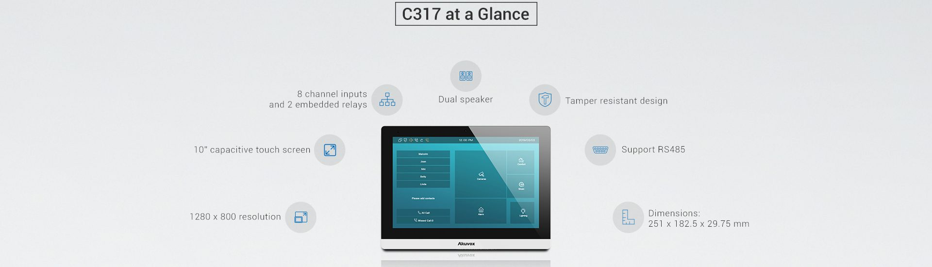Akuvox C 317