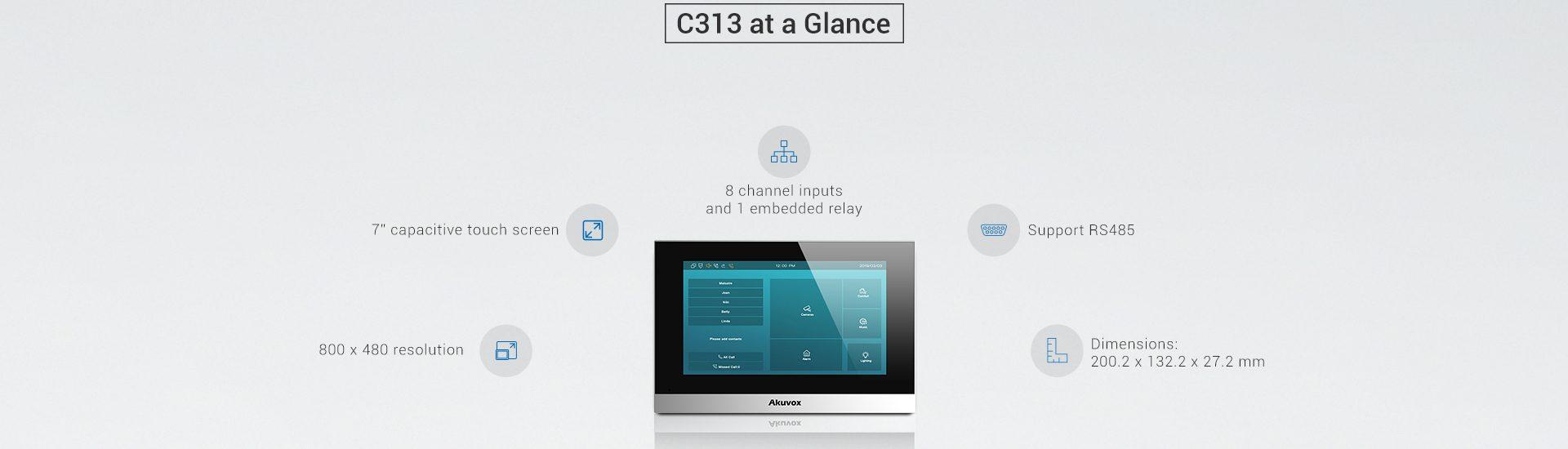 Akuvox C313